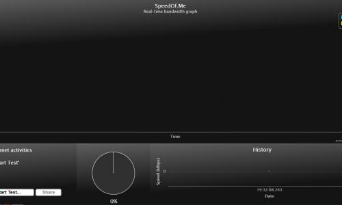 Speed Of Me Broadband Speed Tester HTML 5